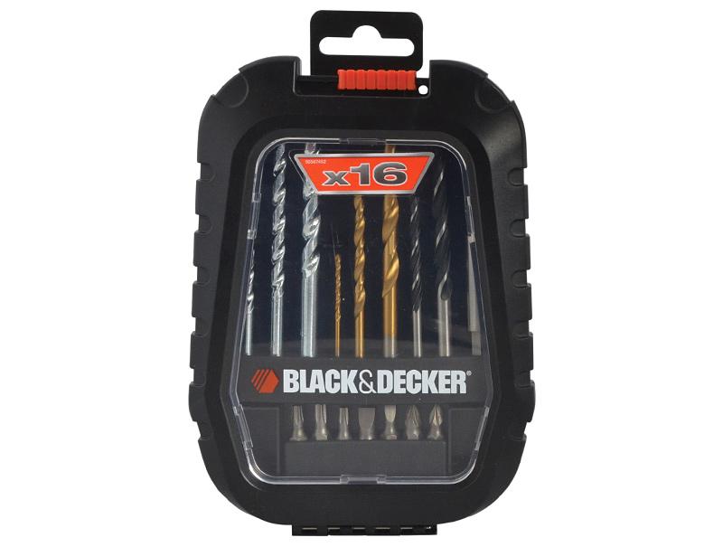 Набор бит и сверл BLACK&DECKER A7186