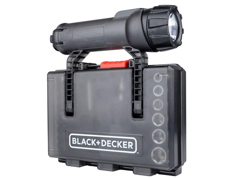 Набор бит и торцевых головок BLACK&DECKER A7224