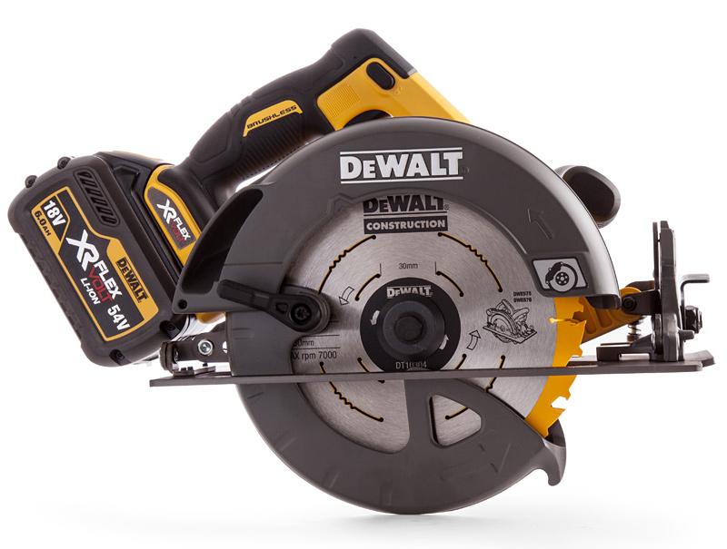 Аккумуляторная дисковая пила DeWALT DCS575T2