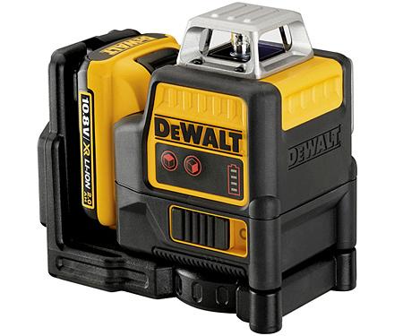 Лазер самовыравнивающийся 2-х плоскостной DeWALT DCE0811D1R