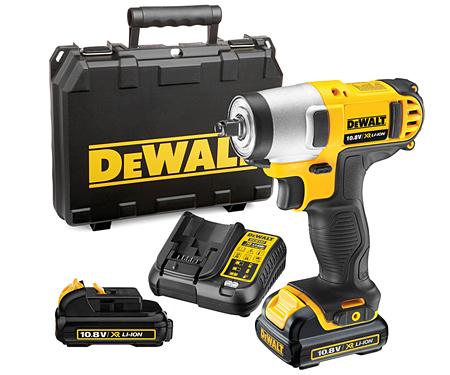 Аккумуляторный гайковерт DeWALT DCF813D2