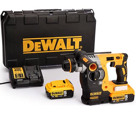 Аккумуляторный перфоратор DeWALT DCH273P2