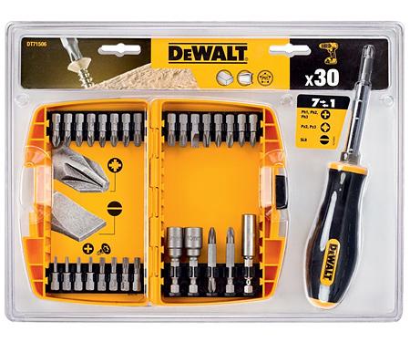 Набор бит и насадок DeWALT DT71506