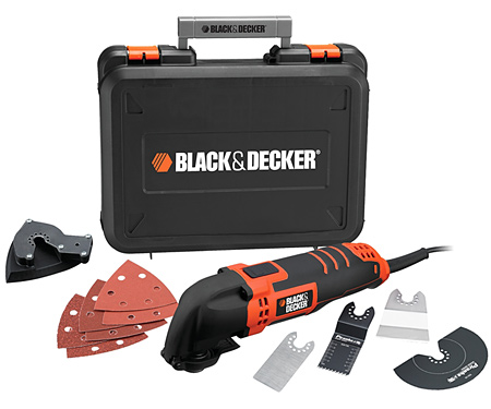 Многофункциональный инструмент-реноватор BLACK&DECKER MT300KA